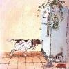 пес и холодильник